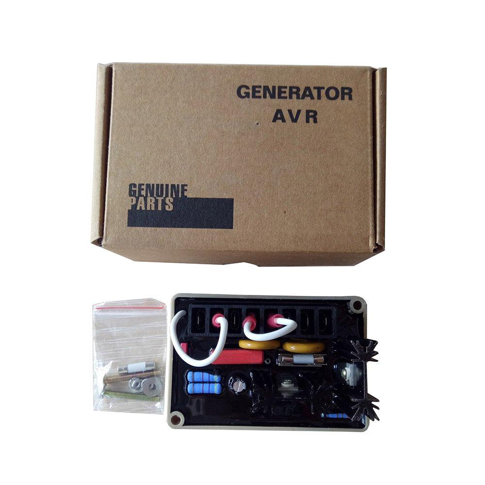 amazon com : electronic voltage regulator avr se350 circuit diagram for  generator : garden & outdoor