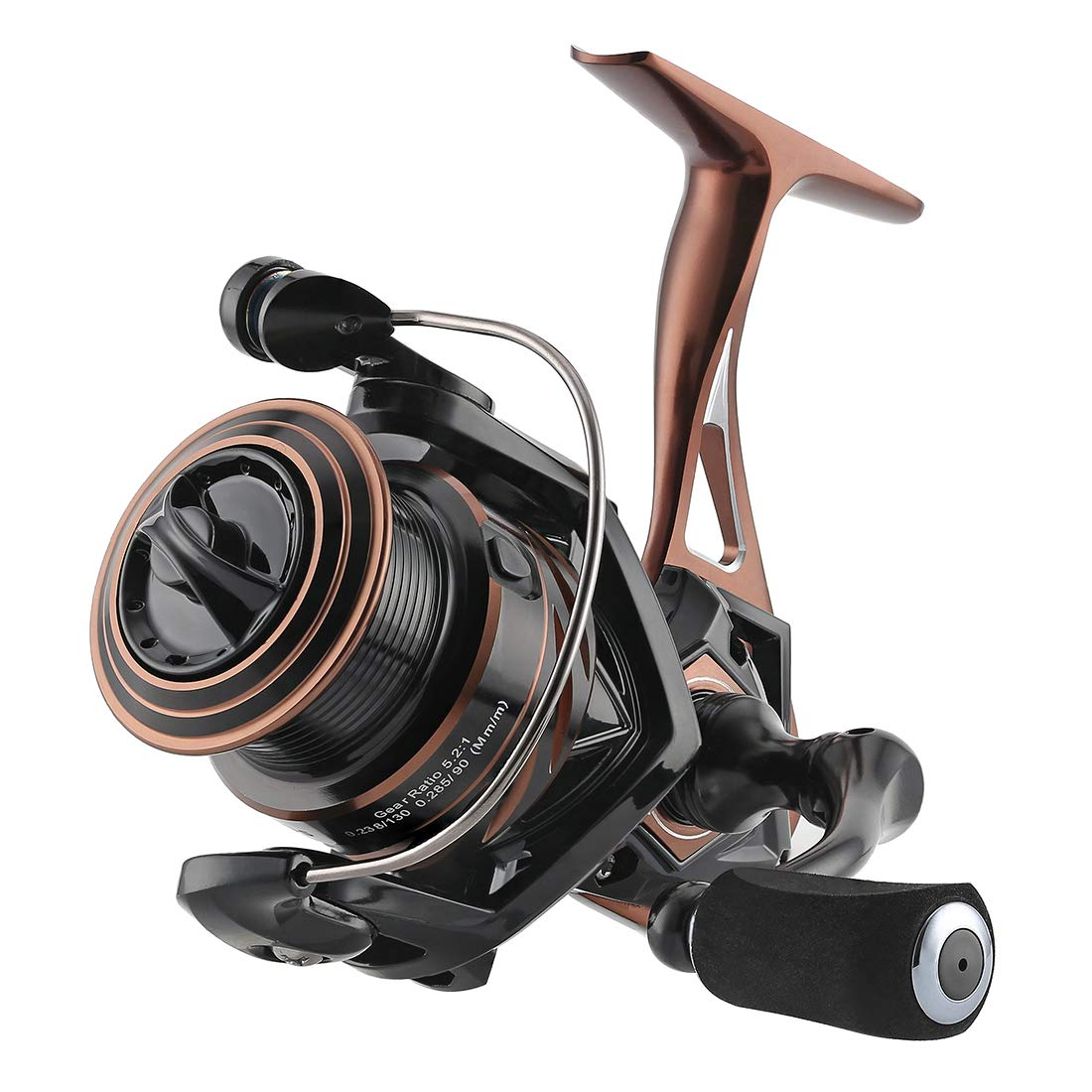 SeaKnight Spinning Reel NAGA II Lightweight Smooth Fishing Reel 9 1 BB Full Metal Body Max Drag 33Lbs Fishing Reel