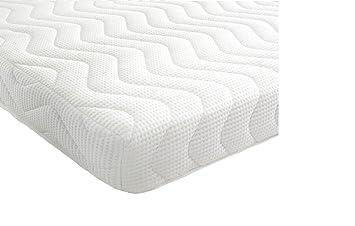 Revive Direct colchón de 3 zonas, espuma viscoeslástica y réflex memoria almohadas con fibra de