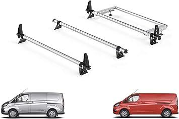 Tailgate Rhino Delta Bar Rear Steel Ladder Roller System for Ford Transit Custom