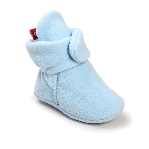 Zapatos de bebé, Kfnire otoño/Invierno Zapatos Suaves Calientes Infantiles bebé Botas Calcetines para