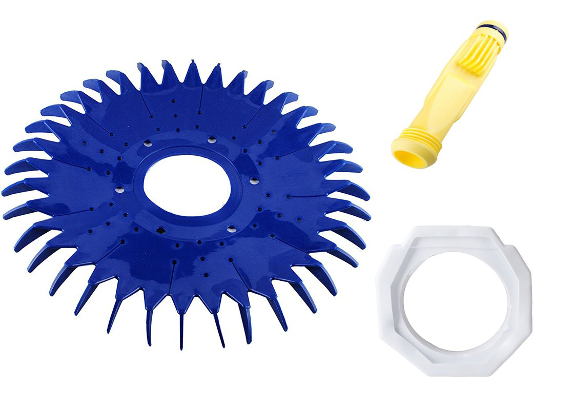 Wadoy W69698 Pool Cleaner Diaphragm & W70327 Foot Pad & W70329 Finned Seal/Disc Replacement Zodiac Baracuda G2 G3 G4, Diaphragm W81600,Pool Cleaner Foot Pad W83275 W72855 W69721