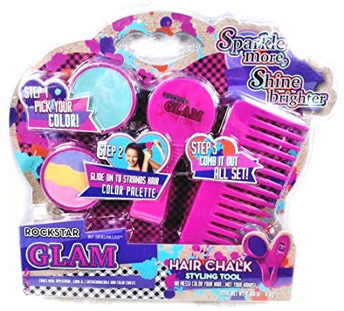 rockstar-glam-hair-color-chalk-with-styling-tool