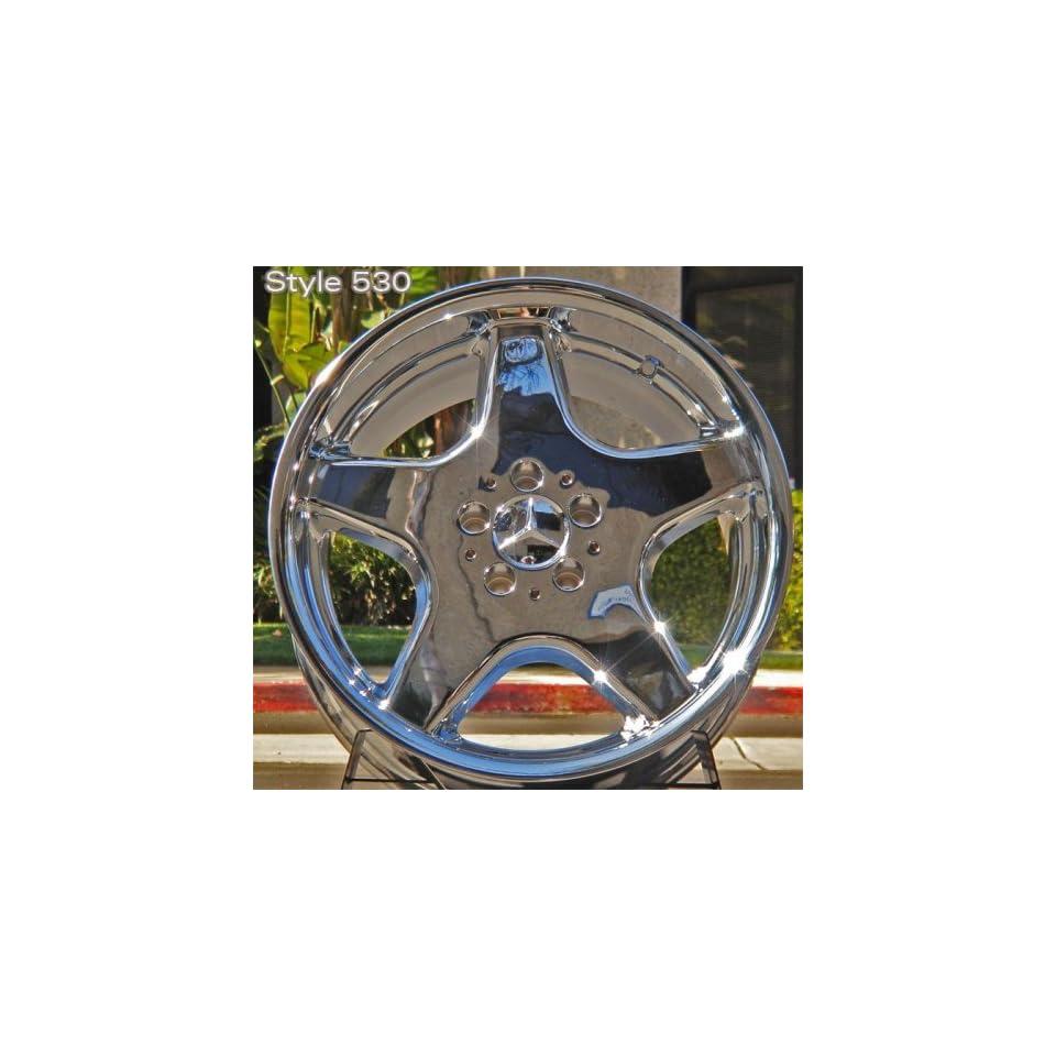 Mercedes E Class 18 inch Chrome AMG style Wheels Rims 1972 1973 1974 1975 1976 1977 1978 1979 1980 1981 1982 1983 1984 1985 1986 1987 1988 1989 1990 1991 1992 1993 1994 1995 1996 1997 1998 1999 2000 2001 2002 2003 2004 2005 2006 2007 2008 2009 72 73 74 75