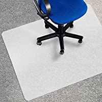 "Office Marshal® Eco Office Chair Mat - 36"" x 48"", Multiple Sizes - Carpet Floor Protection - BPA Free 