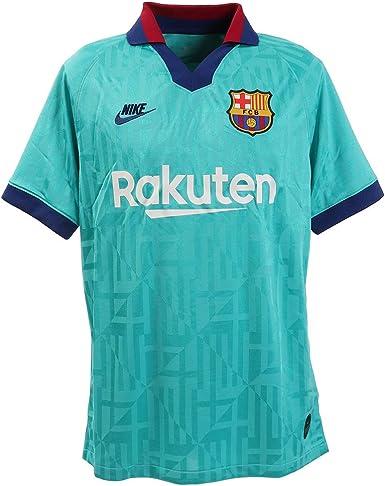 amazon com nike fc barcelona mens third soccer jersey 2019 20 clothing nike fc barcelona mens third soccer jersey 2019 20
