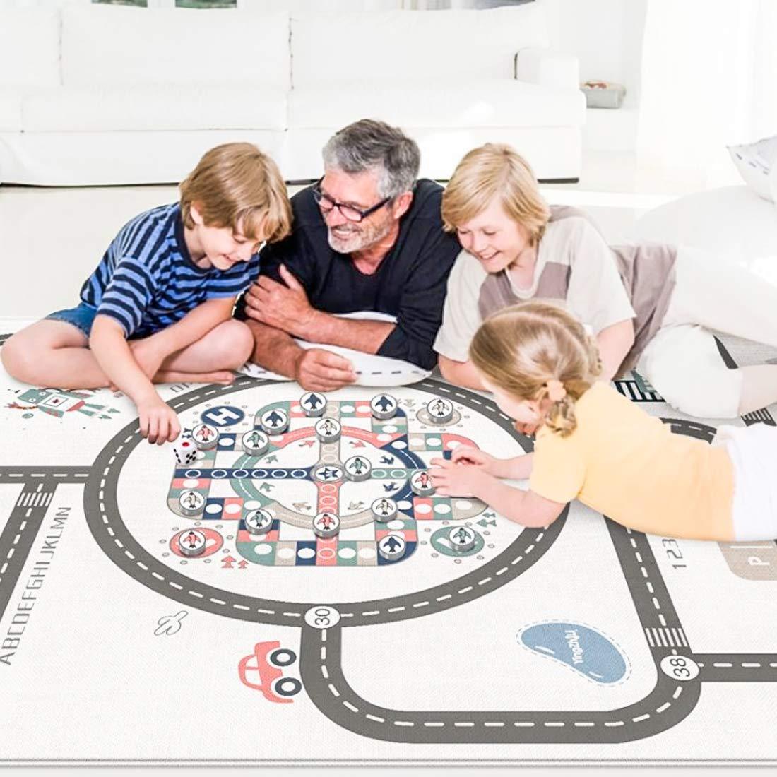200x180cm YxFlower Bodenmatte Baby Rutschfest Spielmatte Kinderteppich Spielmatte
