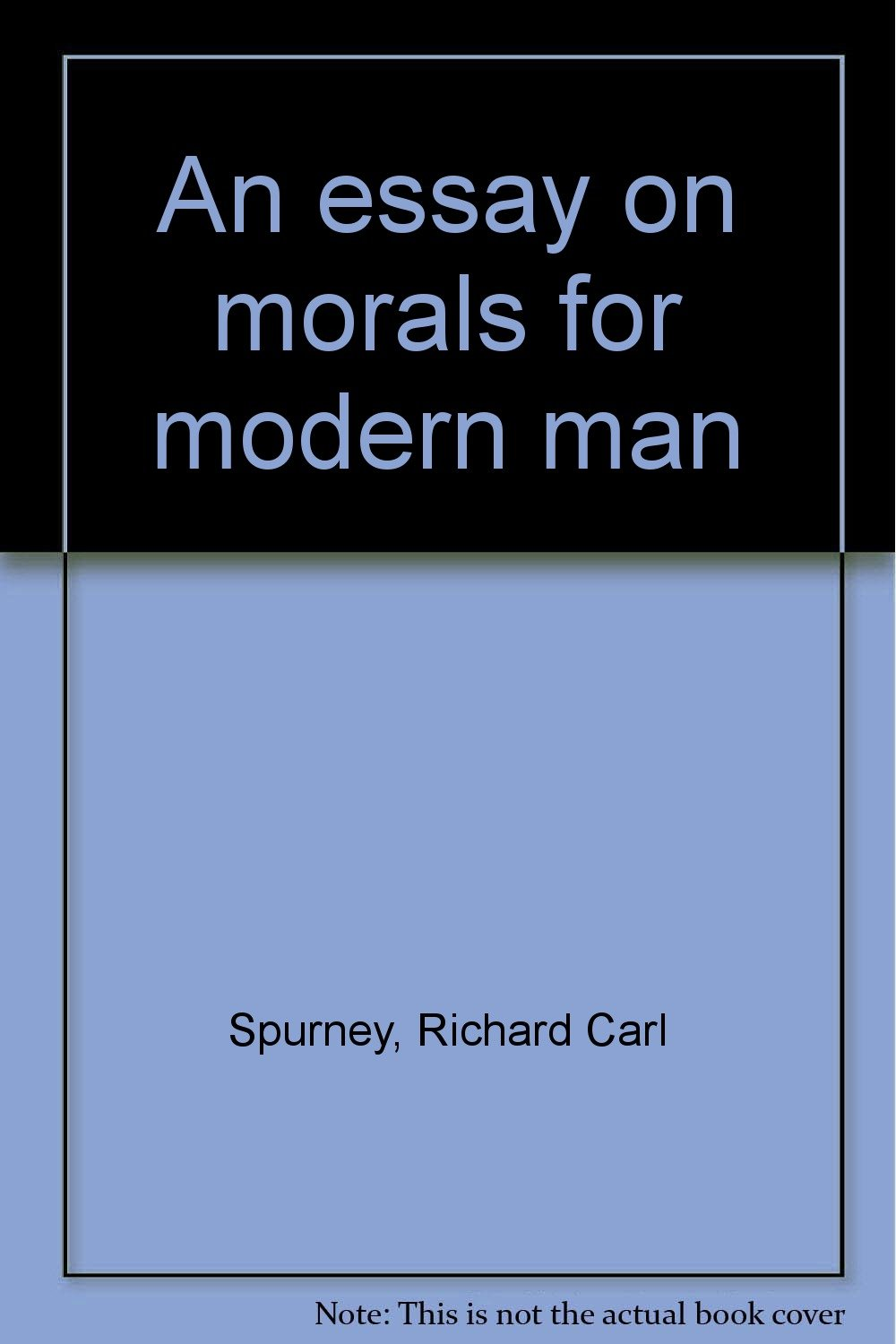 What is morality for the modern man 58