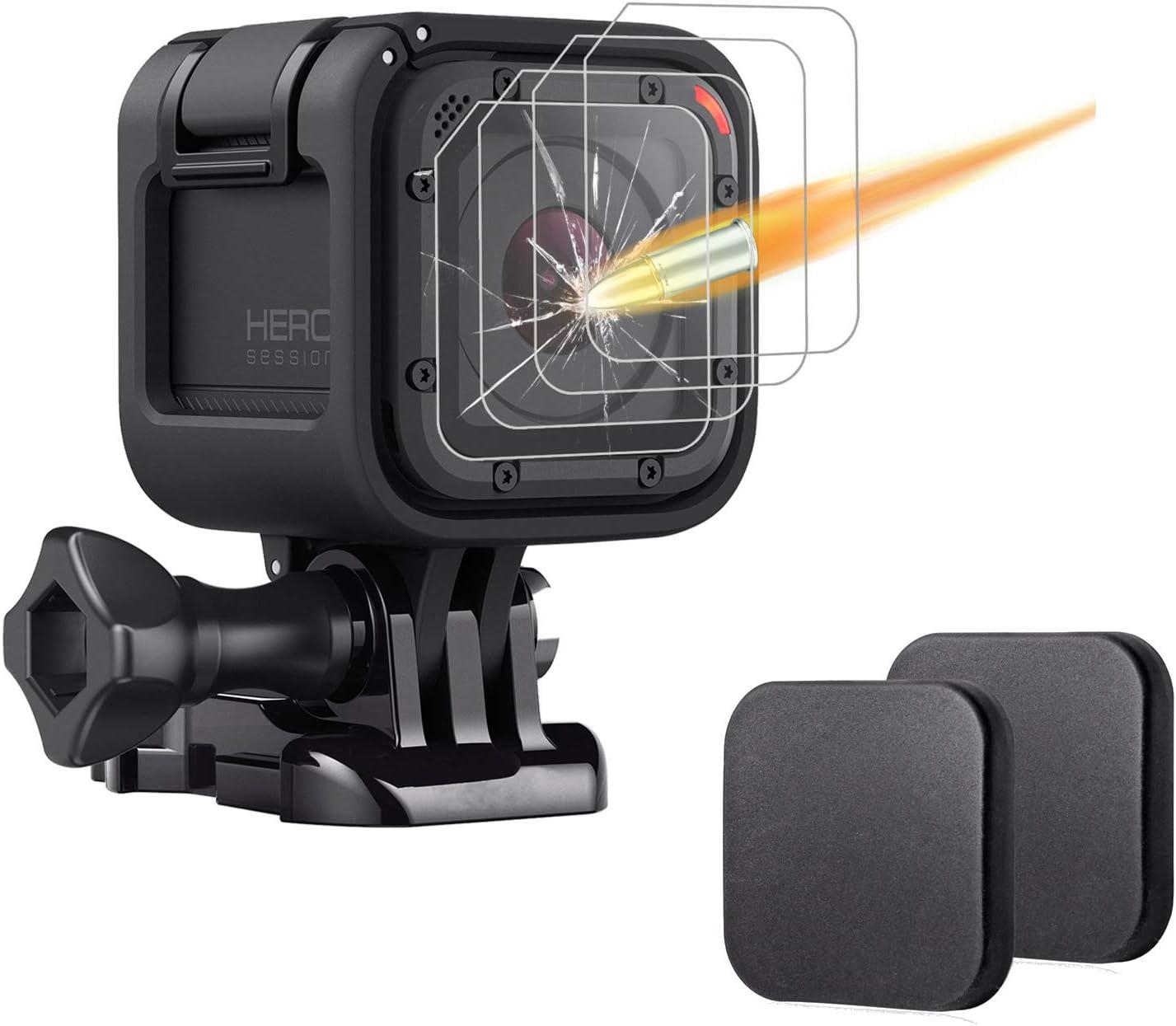 JJC LCP-GPH5 LCD Screen Guard Film Protector for GoPro Hero 5 Hero5 2 pcs Kit