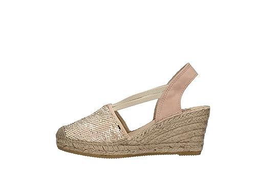 Vidorreta - Alpargatas para Mujer Rosa Size: 38: Amazon.es: Zapatos y complementos