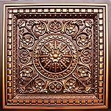 drop ceiling tile glue u0026 grid 0vc2 faux antique copper plastic cheap