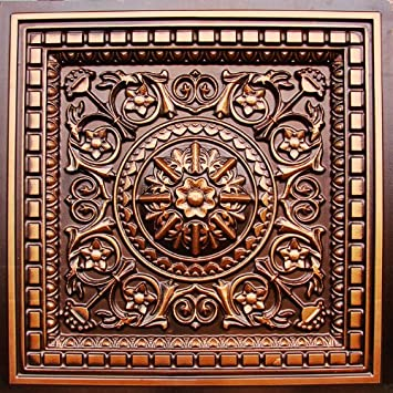 drop ceiling tile glue u0026 grid 0vc2 faux antique copper plastic cheap