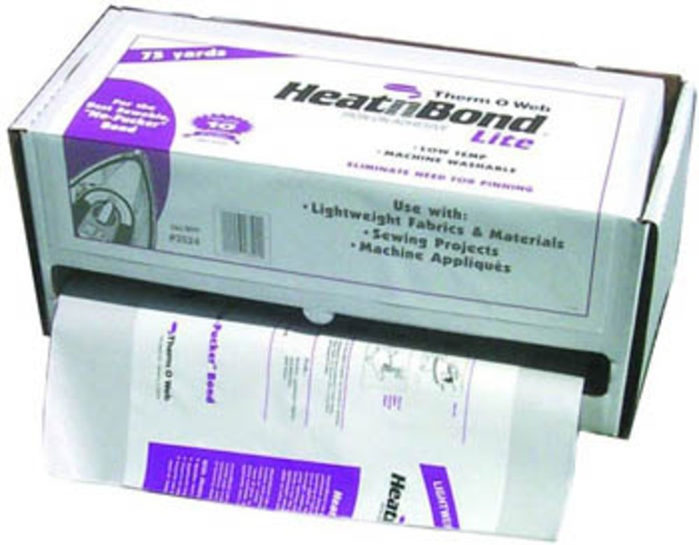 Thermoweb Heat 'n Bond 17x75 White Iron-On Adhesive, by Therm O Web