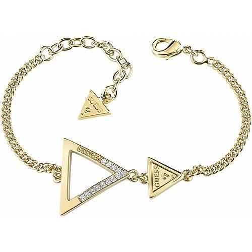540128dd77cc Joyería para Mujer Guess Jewellery Iconic 3Angles Bracelet UBB83064-L   Amazon.es  Joyería