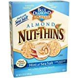 Blue Diamond Almond Cracker Crisps, Hint of Salt, 4.25 Oz