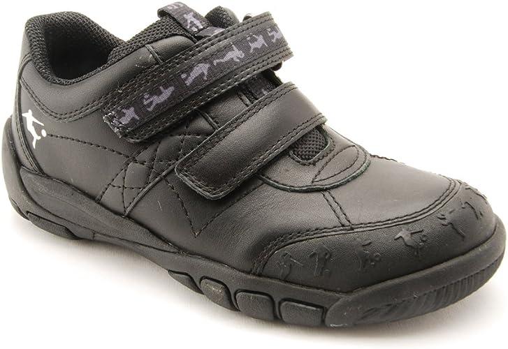 Start-rite Boys Hat-Trick Black Leather
