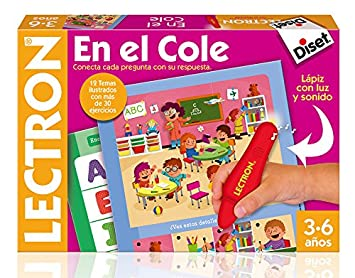 Diset Lectron Lectron En El Cole Juego Educativo 64880 Amazon Es