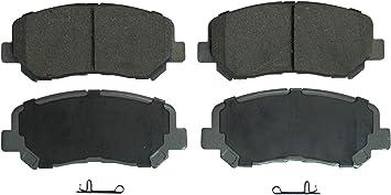 Amazon Com Wagner Thermoquiet Qc1623 Ceramic Disc Brake Pad Set Automotive