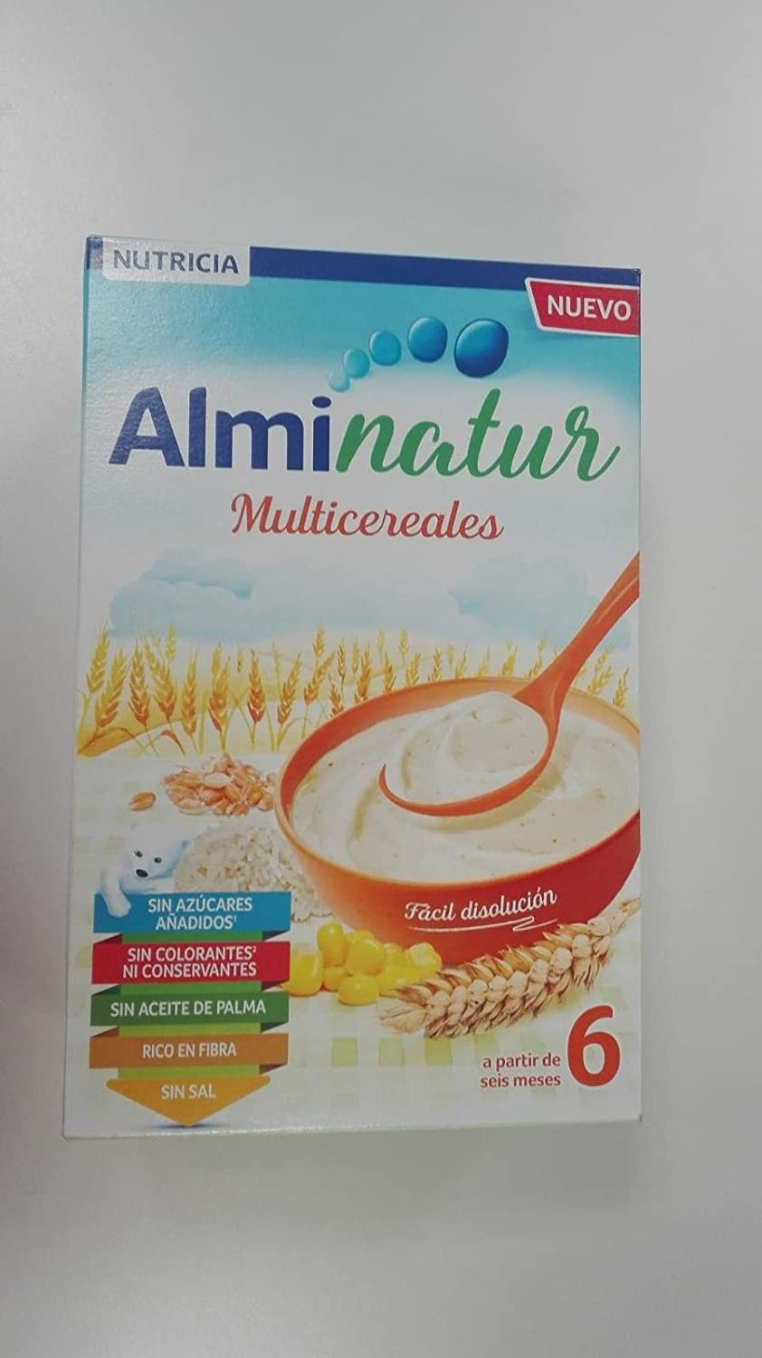 Amazon.com : ALMIRON Advance Papilla de Multicereales 500G by Almiron : Grocery & Gourmet Food