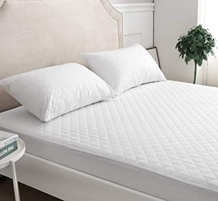 Polycotton Quilted Fitted Mattress Protector