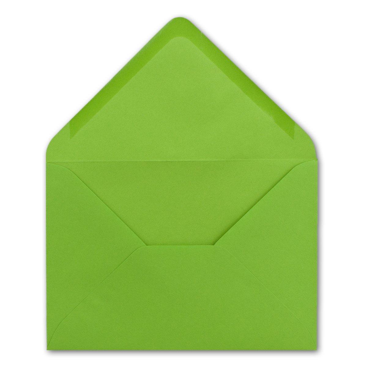200x Brief-Umschläge in Dunkel-Grün - - - 80 g m² - KuGrüns in DIN B6 Format 125 x 175 mm - Nassklebung ohne Fenster - Qualitätsmarke FarbenFroh® B07BK55PYX | Neue Produkte im Jahr 2019  fc26bc