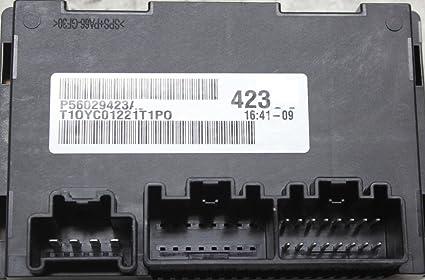 11-13 Grand Cherokee Durango Transfer Case 4x4 Module Computer 56029423  #2119
