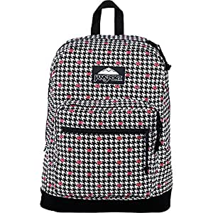 JanSport Disney Right Pack SE Laptop Backpack (Minnie White Houndstooth)