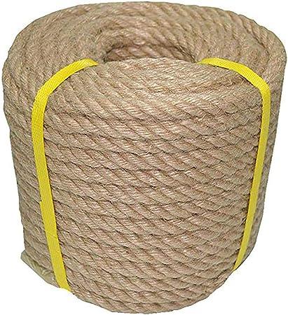 DLYDSS Cuerda De Cáñamo, Manila Cuerda, 100% Yute Natural Cuerda - 5-10 M 40mm / 45mm - For La Artesanía, Náutico, Paisajismo, Decoraciones, Columpio Que Cuelga (Size : 40MM/7M): Amazon.es: Hogar