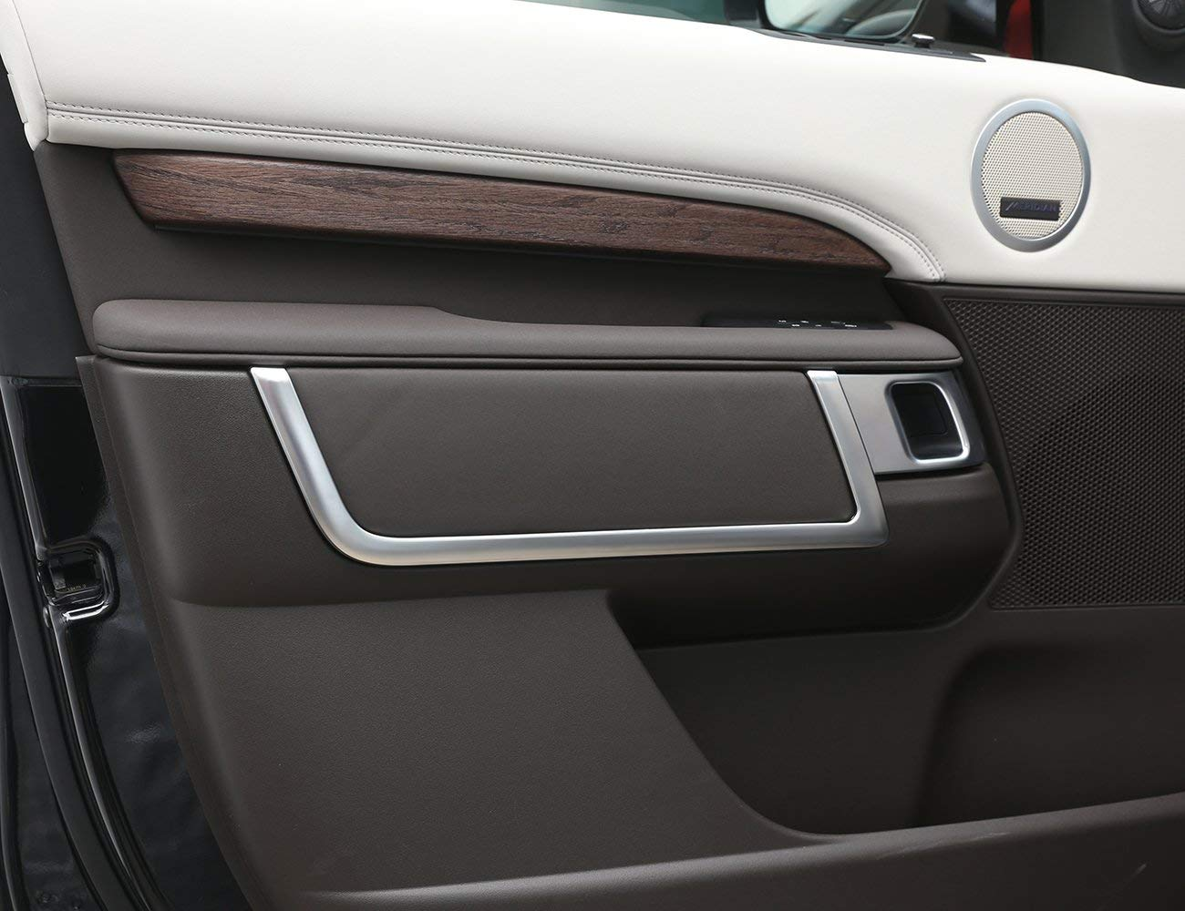 Strisce Decorative cromate per Interni portiera per Land Rover Discovery 5 2017 Top-Auto