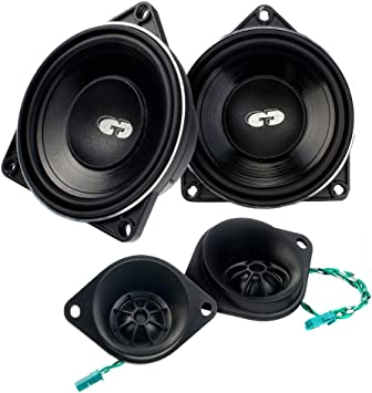 CDT Audio bm4 de Kit4 Oro de Altavoz para BMW & Mini compostador ...