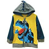 Lyxinpf Little Boys Waterproof Hooded Jacket