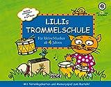 Lillis Trommelschule: Für kleine Musiker ab 4 Jahren. Mit Notenlegekarten und Memoryspiel zum Basteln!