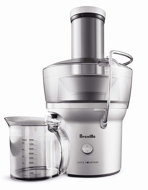 Breville the Juice Fountain Compact 700-Watt Juice Extractor Juicer - BJE200XL