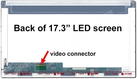 Matte HD 1366x768 LCD LED Display with Tools SCREENARAMA New ...
