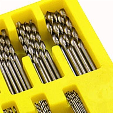 HSS Precision Micro Kit Perceus /à Main Bits Verser Outil De Forage Faire Bricolage Mod/èle Jeu De 150 Mini /étaux /à /étaux /à Broches