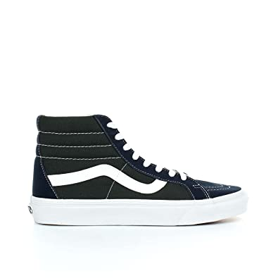 93bcc51fb99d Vans  quot SK8-Hi Reissue 2 Tone Sneakers (Dress Blues Scarab)