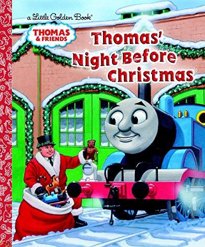Thomas Night Before Christmas (Thomas & Friends) (Little Golden Book)