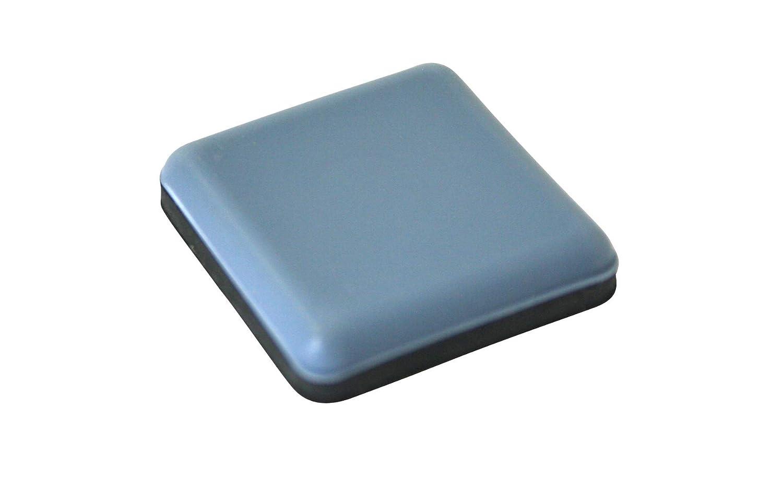 GoodGlides 16 x Teflon furniture sliders self adhesive 30 x 30 mm PTFE glides floor protectors for easy moving GleitGut GmbH