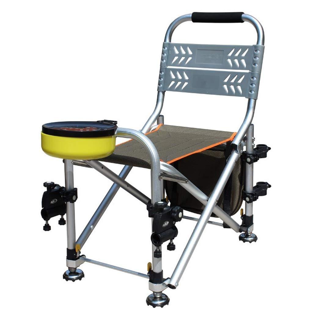 LJFYMX Chaise de pêche Chaise de pêche Chaise de Camping Table Chaise de pêche Chaise de pêche Sauvage Multi-usages Chaise Pliante Table de pêche Tabouret de pêche Adapter à Plusieurs terrains Chaise  -