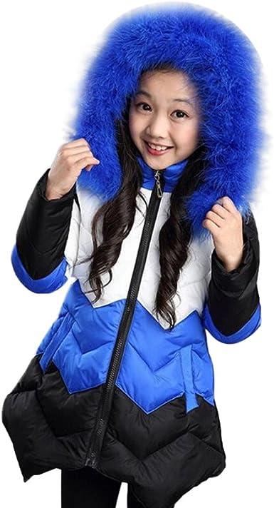 Lifestyler Fashion Girls Winter Warm Trench Coat Windbreaker Zipper Jacket Outwear Parka