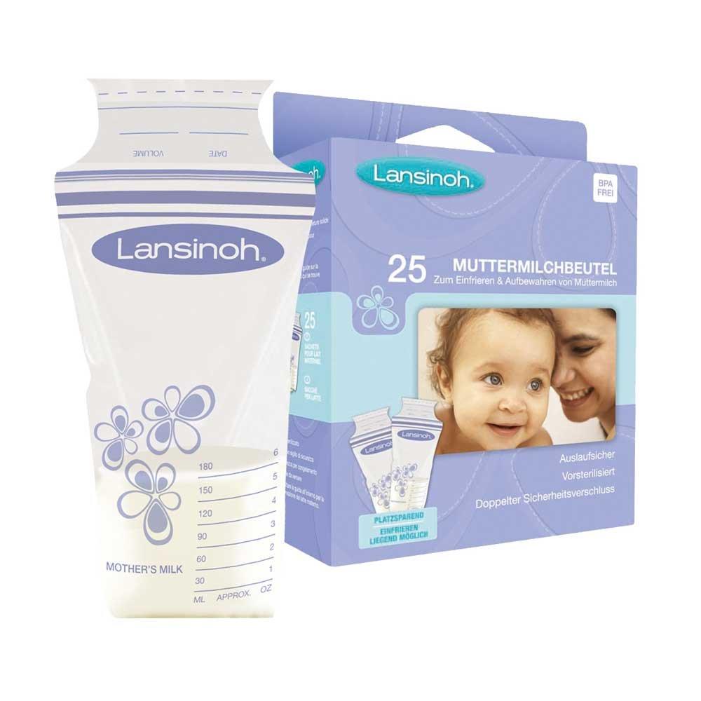 25 X Lansinoh bolsas para leche materna, leche materna de ...