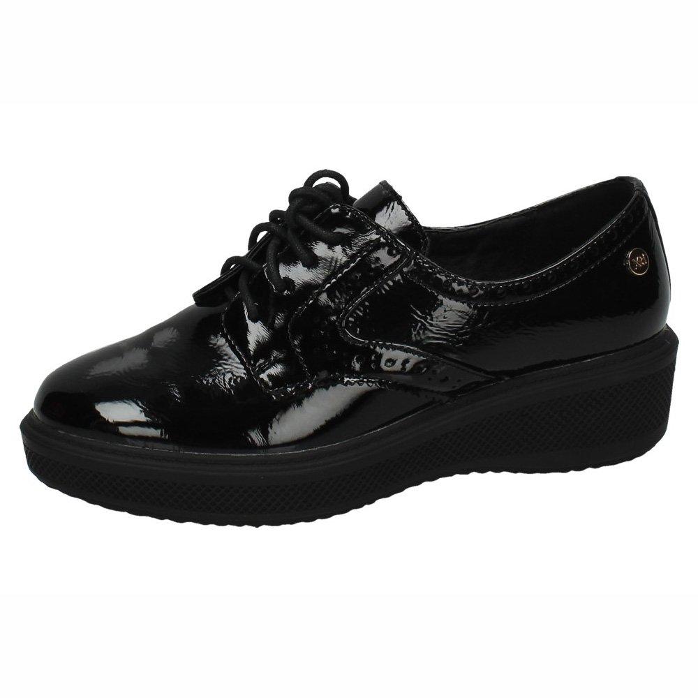 XTI 047517 Zapato De Mujer 047517 Sintético Mujer 38 EU|Negro