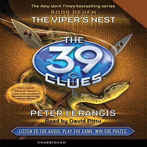 39 clues audible - 9