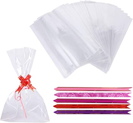 small cellophane bags uk