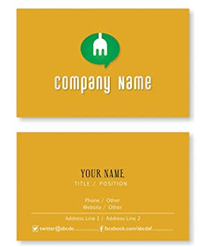 Design your own personalized business cards custom logo visiting design your own personalized business cards custom logo visiting card front and back reheart Images