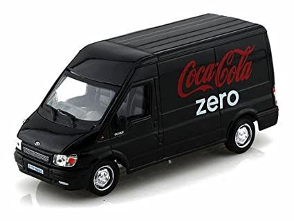 Amazon com: Maisto Ford Transit Coca Cola Zero 1/43 Car