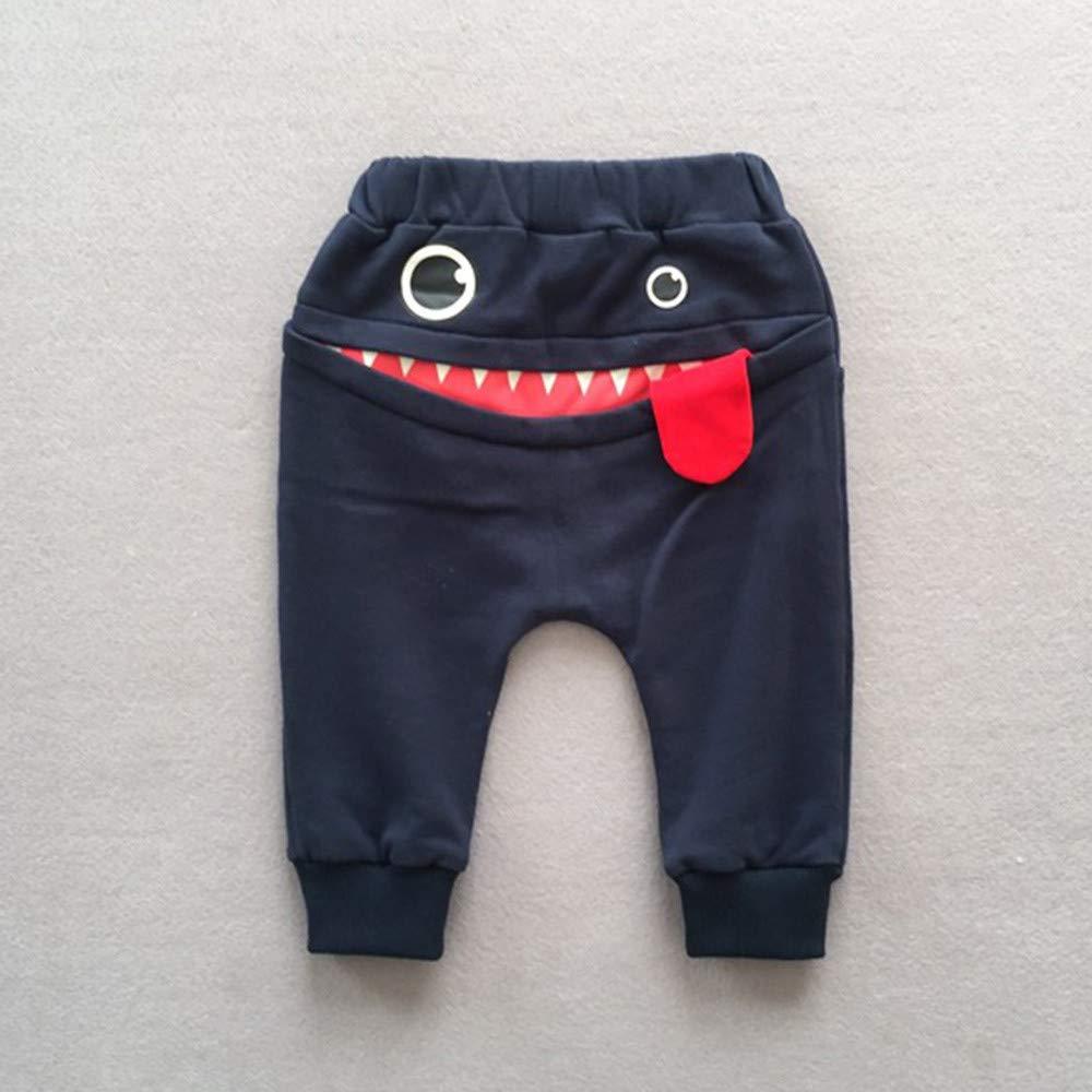 ZEELIY 0-3 Ans Vetements B/éb/é Gar/çon B/éb/é gar/çon Ensembles Pantalons et Haut gar/çon V/êtements,Short /à Motif Requin Dessin Anim/é 3D