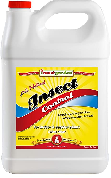 I Must Garden Insect Control: Kills and Repels Aphids, Whiteflies, Scale,  Spider Mites, Thrips, Gnats, Leafhoppers – All Natural Indoor/Outdoor –