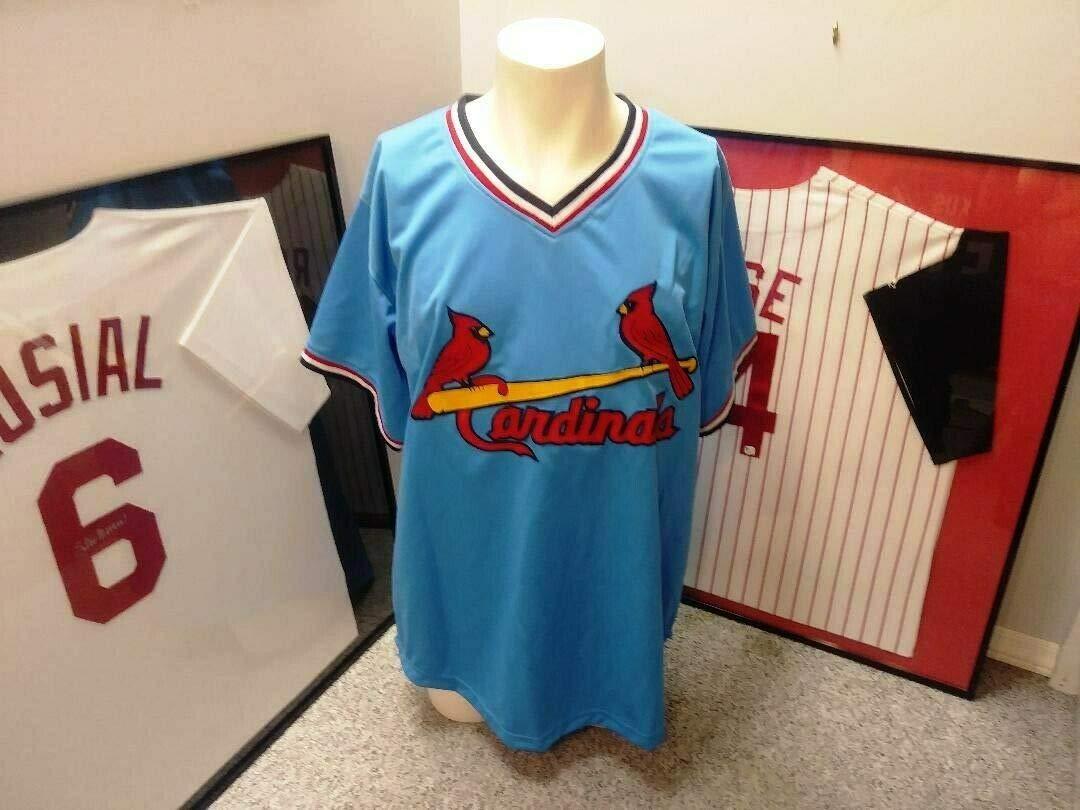 official photos bc969 26e3e Ozzie Smith Autographed Signed St Louis Cardinals Jersey JSA ...