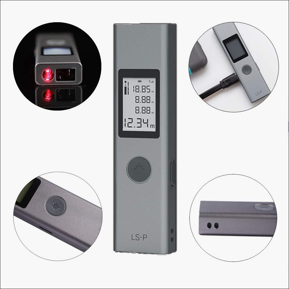 T/él/ém/ètre laser LS-P multicolore T/él/ém/ètre laser intelligent USB LCD num/érique portatif